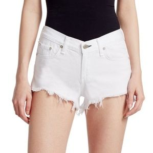 Rag & bone cut off Demin Shorts white Size 26